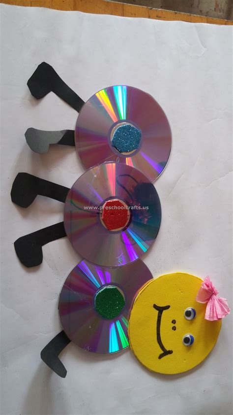 Cd Craft For Preschool Preschool Crafts
