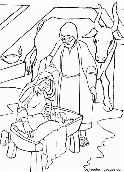 coloring pages christmas nativity az coloring pages nativity color pages az coloring pages