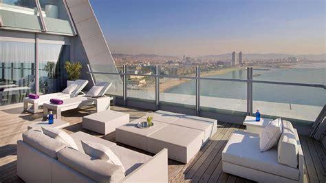 hotel w terrasse w barcelona sail like hotel in catalonia