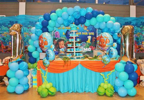 42 best images about finding theme on pinterest finding nemo theme birthday party ideas photo 1 of 20
