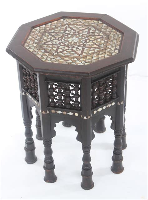 of pearl table early of pearl inlaid islamic table 237855