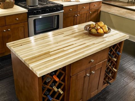 How Much To Stain Kitchen Cabinets diy butcher block countertops for stunning kitchen look
