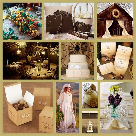 premier magazine wedding theme western rustic country