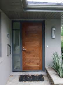contemporary front door creed 70 s bungalow makes a modern impression