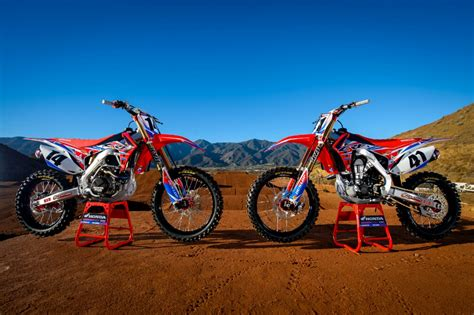 honda motocross racing 2016 crf450r race bikes team honda hrc presents 2016