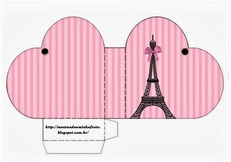free printable paris party decorations paris free printable boxes oh my fiesta in english