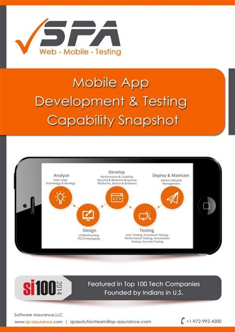 home software development mobile app development mobile app development testing brochure