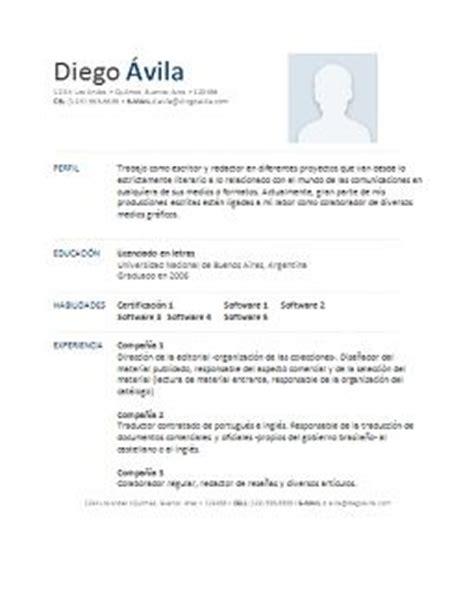 Curriculum Vitae Modelo Para Completar Docente Ejemplo De Hoja De Vida O Curriculum Vitae Con Datos De Demostraci 243 N Para Entender Como