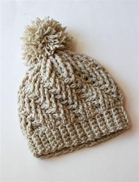 hat patterns on pinterest crocheting crochet patterns stepping texture hat by bernat design studio free