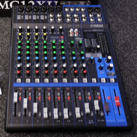 Mixer Yamaha Mg12xu yamaha mg12xu mixing desk w box 2nd rich tone