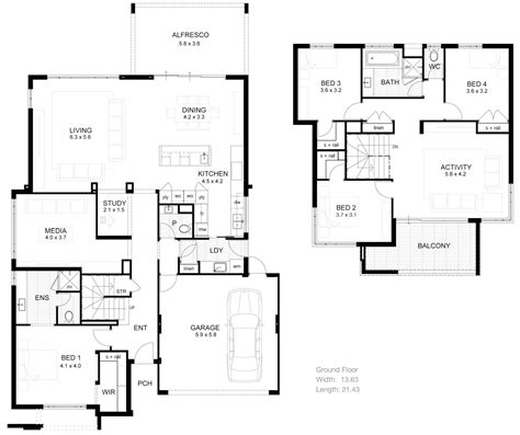 2 story open floor house plans open floor plans two story house