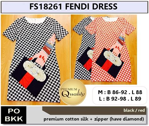 Preorder Dress Anak Import High Quality 25 fendi dress supplier baju bangkok korea dan hongkong