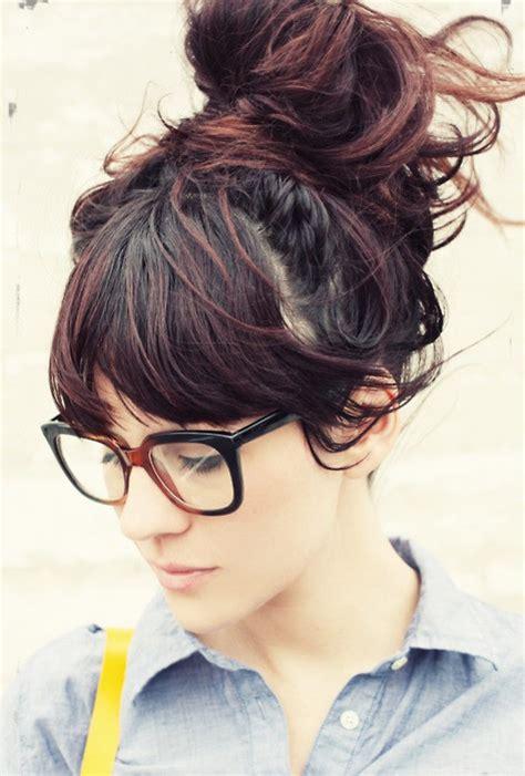 school hairstyles with glasses how to create the knot bun dublin hair salon