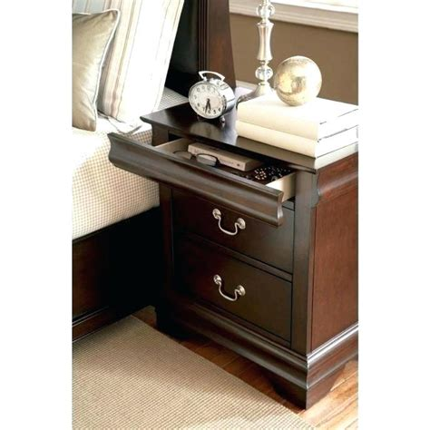 bedside table with secret compartment floating shelf with drawer source press release diy
