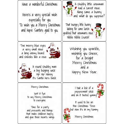 Card Verses For Handmade Cards - verses for cards great printable calendars