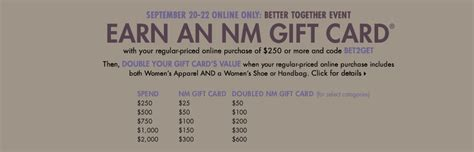 Neiman Gift Card Event - fashion prospectress neiman marcus double gift card event