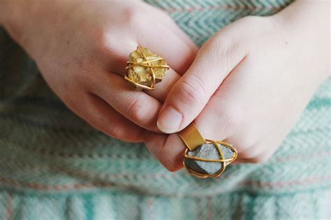 Flat Shoes Nachi Yellow diy rings that look as as store bought jewelry