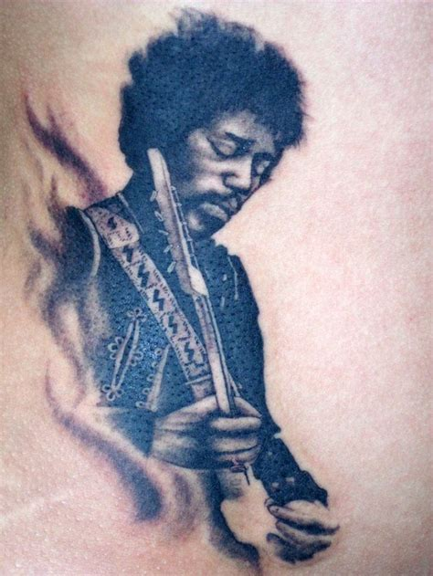 jimi hendrix tattoo 106 best images about s on microphone