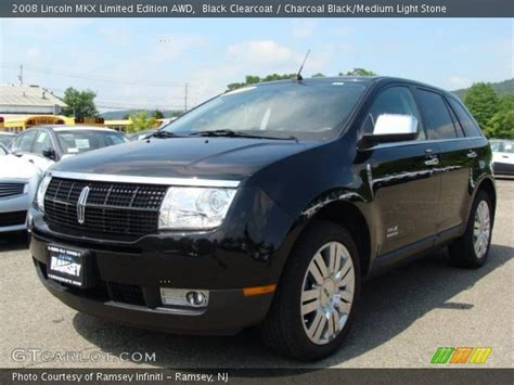 black clearcoat 2008 lincoln mkx limited edition awd