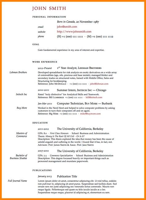 7 academic resume graduate school educationalresume or