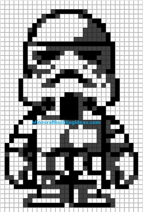 wars pixel templates trooper