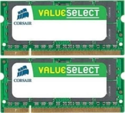 Corsair Memory Notebook 4gb Ddr3 Pc 10600 corsair 4gb ddr3 1333mhz laptop memory ebuyer