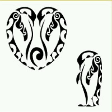 tribal penguin tatoos
