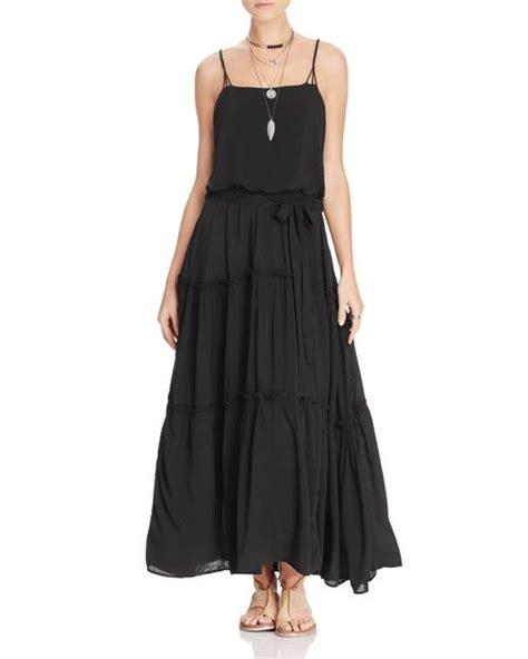 Hem Gucci Ld 102cm Free Belt free solid gauze dress white in black save 89 lyst