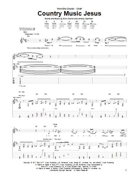 eric church guitar tabs guitar instructor select country