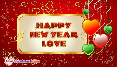 images of love new year happy new year love lovecalculator online