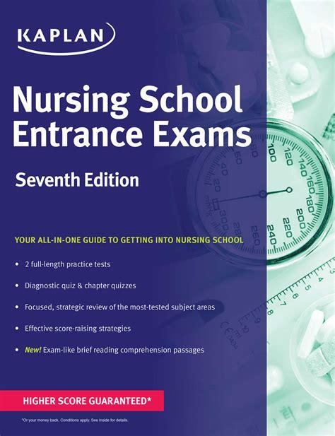nursing school test nursing school entrance exams book by kaplan kaplan