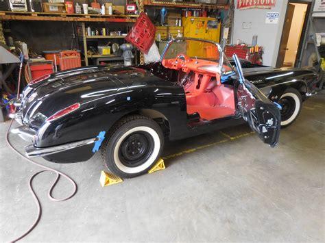 1958 chevrolet corvette restoration gm sports