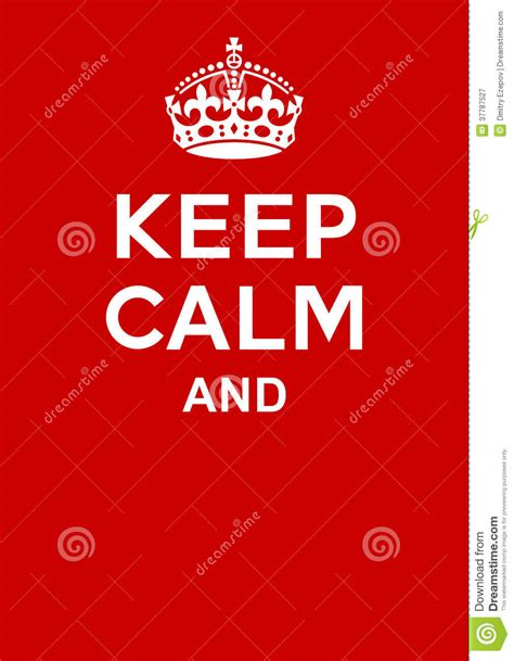 design free keep calm poster keep calm poster royalty free stock photography image