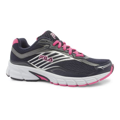 fila s xtenuate navy pink running shoe shop your