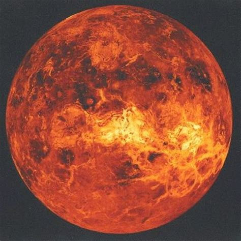 Bor Venus planet venus orange inality