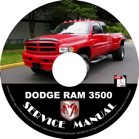 book repair manual 1995 dodge ram 3500 interior lighting 1998 dodge ram 3500 factory service repair shop manual on cd fix repair rebuilt