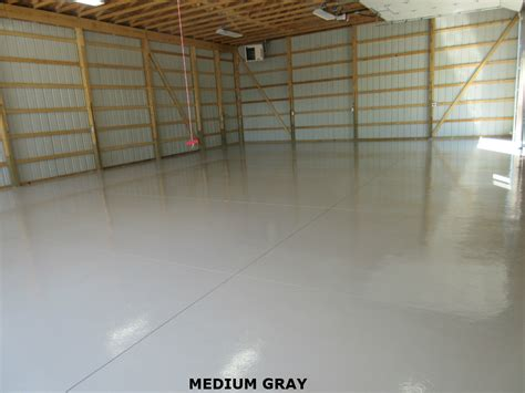 Large Commercial Epoxy Floor Coatings System   Garage