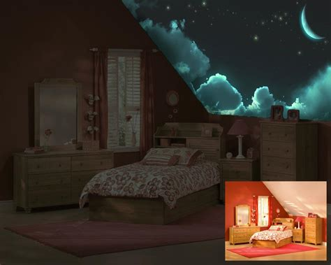 glow in the dark paint for bedroom walls luminous skys glow in the dark art luminous stars galaxies painted on your
