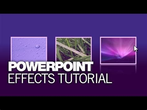 tutorial youtube microsoft powerpoint effects tutorial youtube