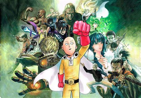 inilah 6 anime yang mirip dengan one punch