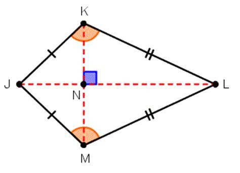 diagram of kite properties of trapezoids and kites wyzant resources