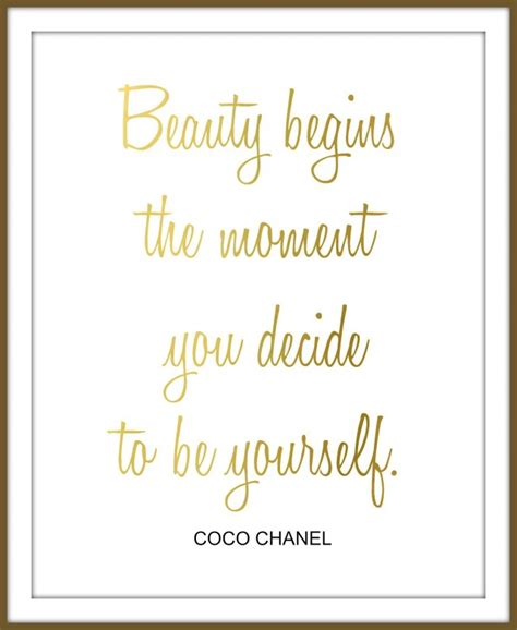 Printable Chanel Quotes | free printables for your home and closet up to date