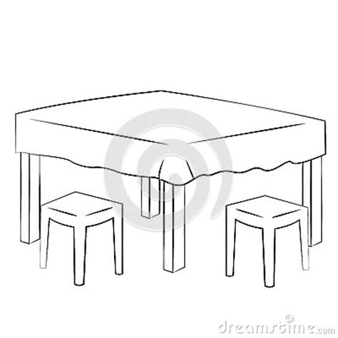 table layout vector dining table stock vector image 48520120
