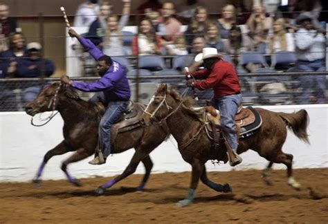cowboys of color rodeo prairie view cowboy rides to victory at cowboys of color