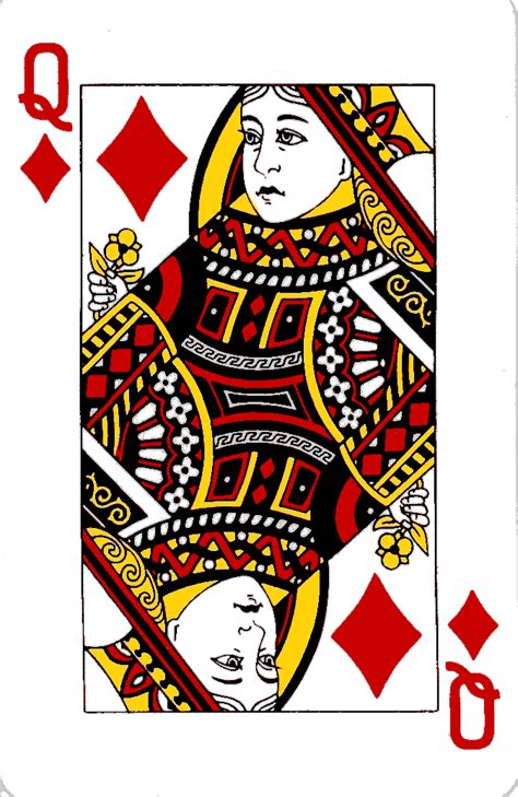 card blank template king of diamonds cards the card lover