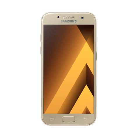 Resmi Hp Samsung A3 jual samsung galaxy a3 2017 sm a320 smartphone gold garansi resmi harga kualitas