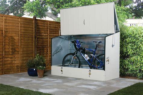 secure bike storage sheds trimetals uk