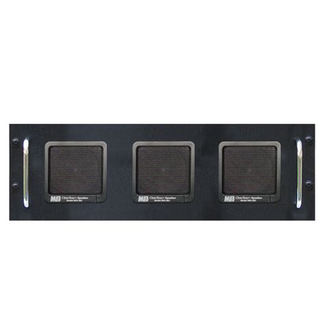 3 speakers 8 ohm rack mount fits collins many radios