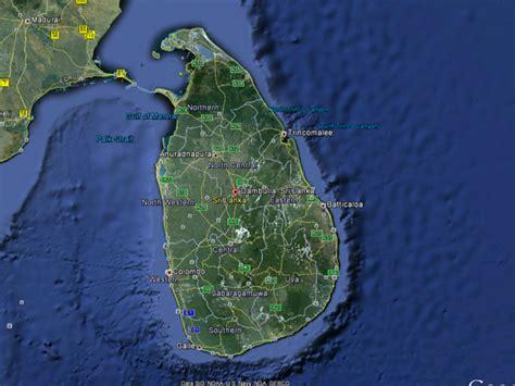 sri lanka satellite map map in srilanka srilanka beautiful places