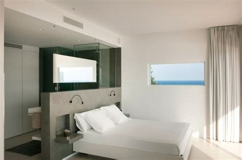 salle de bain dans la chambre salle de bain dans chambre une tendance 233 l 233 gante et pratique